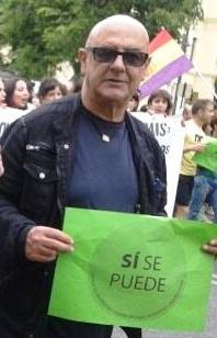 Llegando a la manifestación