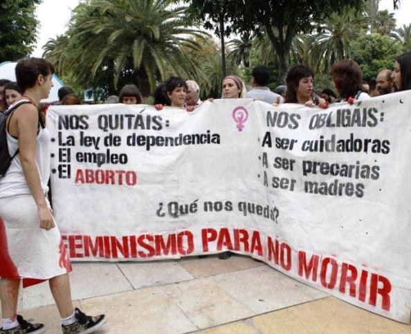 Grupo de feministas