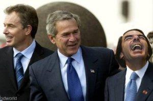 El Trio de las Azores, Bush, Blair y Aznar