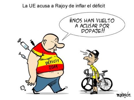 La polémica sobre el déficit, acabó volviéndose contra Rajoy