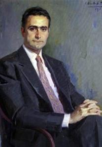 Francisco de la Torre, Presidente de la Diputación, pintiura de Ravello de Toro