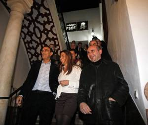 Los Ni-Ni de Griñán: Mario Jiménez, Susana Díaz y Francisco Conejo