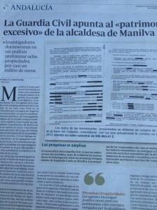 LA Guardia Civil le pisa los talones a Antonia Muñoz