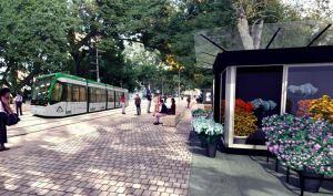 El Metro en simulación por una Alameda Principal peatonal, proyecto que no desea el alcalde De la Torre