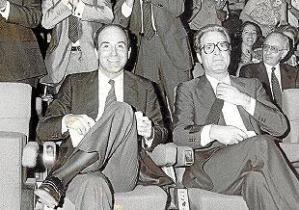 Miquel Roca y Antonio Garrigues, que se llamaron tercera vía entre PSOE y AP y ficharon a De la Torre para su descalabro electoral