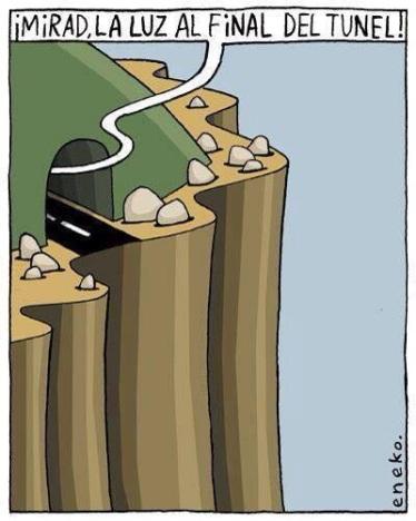 La luz del final del túnel que ve Rajoy