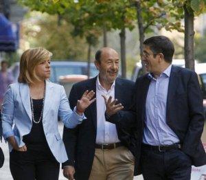 Valenciano, Rubalcaba y López, ninguno de ellos afín a Griñán