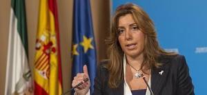 Susana Díaz, de Juventudes Socialistas hasta lo más alto que sea. CV, plano