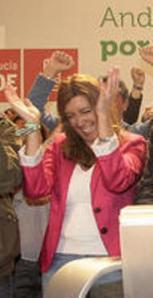 Susana Díaz la que el oficialismo quiere verla así el próximo 29 de julio
