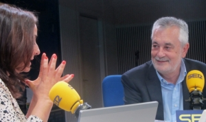 Pepa Bueno entrevistando en LA SER a José Antonio Griñán