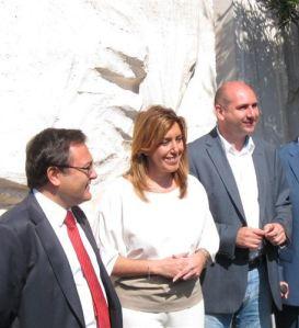 """En Málaga, bien conoce la militancia a la generación de Susana Díaz, por ejemplo M A Heredia y Fco. Conejo, claro ejemplo: ganan """"a su manera""""  todos los procesos internos y todavía ningunas elecciones. El PP gobierna ya en ayuntamientos que representan el total de la población"""