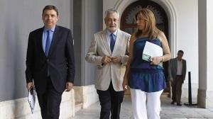 Luis Planas, Griñán y Susana Diaz, brecha que se ha ido abriendo y no ha sido hasta ahora percibida