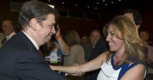 Luis Planas y Susana Díaz, sonrisas de un pasado que ya serán distintas