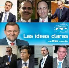 """Los tramposos del PP: """"ideas claras"""""""