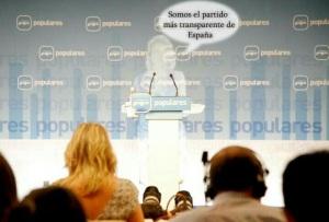 EL PP haciendo travestimo  de trasparencia. Humos, demasiado siniestro y opaco.