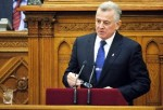 Presidente dimisionario de Hungría