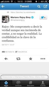 ¡Qué tiempos aquellos del sobreseado Rajoy haciendo mentirosas promesas!