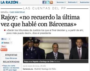 Por una vez. Marhuenda, jefe de Gabinete del Rajoy ministro cuando los puros, hoy director de La Razón