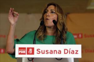 Versión oficialista orgullosa de la estadista, Susana Díaz
