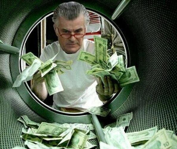 Bárcenas lavando dinero