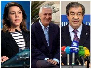 Los tres que han sido y es secretario general del PP, Cascos, Arenas y Cospedal, que declararon y mintieron ante el juez Ruz