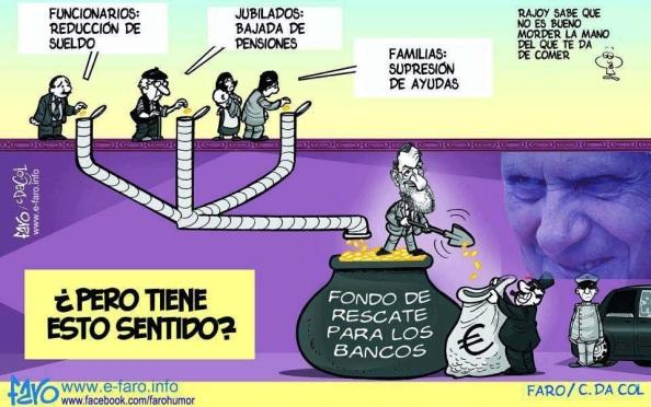 Crisis rescate banca
