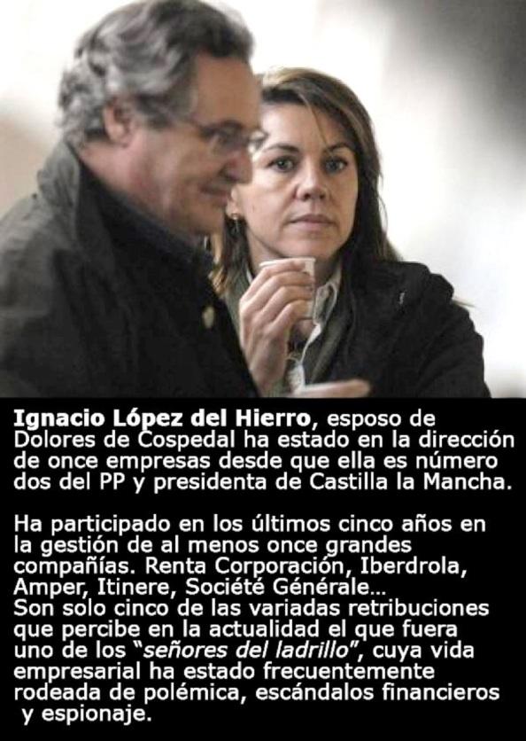 Ignacio López del Hierro y María Dolores