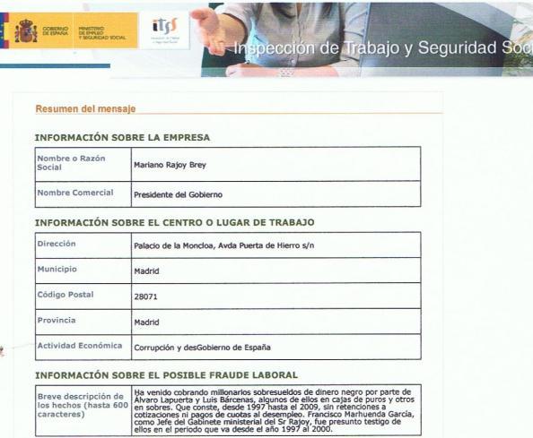 La denuncia contra Mariano Jajou