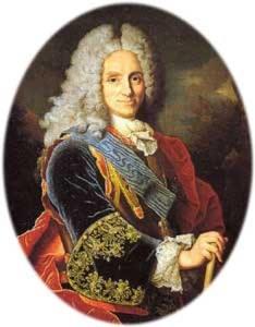 Felipe V, quién firmó la cesión de por vida a Gran Bretaña del Peñón de Gibraltar.