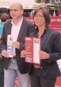 Gámez y Conejo ya como ediles de la oposición tras su fracaso electoral