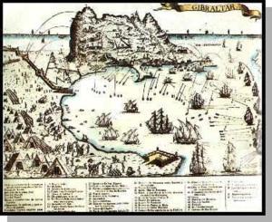 La batalla de Gibraltar
