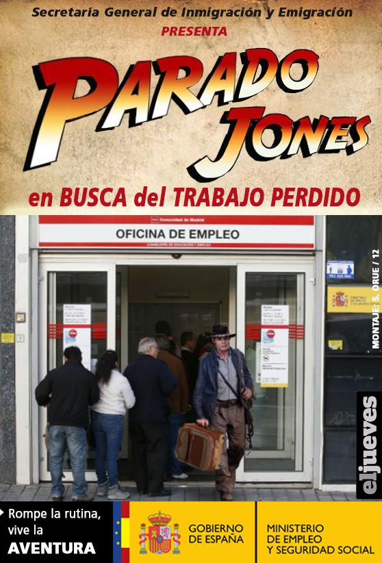 """Rajoy avanzó  que """"el paro registrado bajó en unas 63.500 personas en julio por lo que  en los últimos cinco meses se han registrado 340.000 parados menos. el mayor descenso del paro en estos meses desde el comienzo de la crisis…"""". """"Y si lo medimos desde principios de año, es la mayor caída del paro entre enero y julio de 2006""""… el viento en la economía está cambiando"""", remachó. Otra mentira, conscientemente incluye en el descenso del paro los que han dejado de registrarse en las oficinas públicas porque están desanimados de no hallar empleo, los que han causado baja por marcharse al extranjero y los empleos que son solo producto de la estacionalidad del mes . Han seguido cayendo escandalosamente los contratos fijos y los fijos discontinuaos a cambio de la precariedad, a tiempo parcial, de salarios muy bajos, de ahí la desproporción de cifra entre inmigrantes respecto a autóctonos, como consecuencia de la reforma laboral del PP. Por tanto, si incorporáramos las variables citadas, en vez de haberse empleado esas , hubiera habido un paro de 7.500 personas más."""
