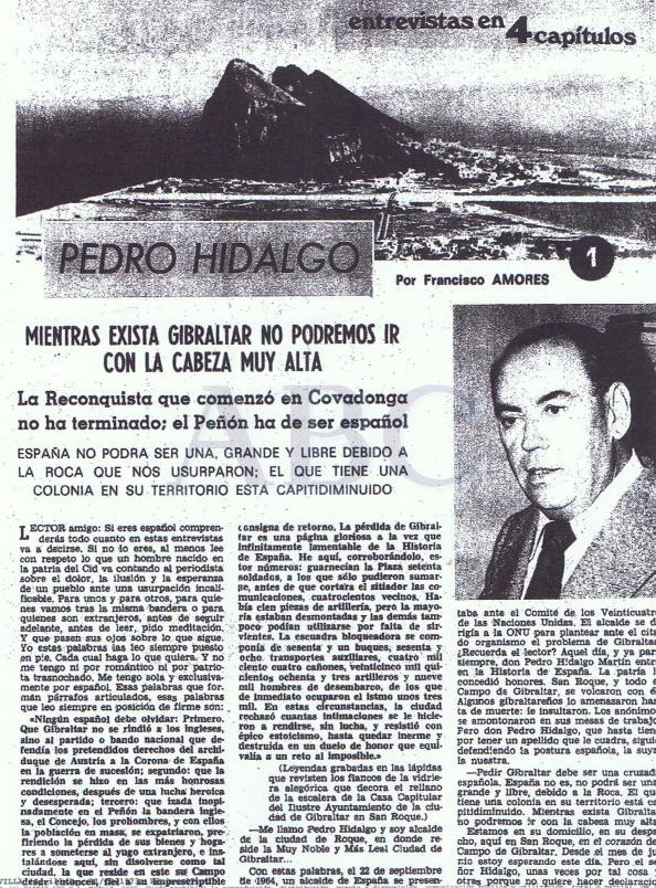 El alcalde de San Roque, municipio que heredó las esencias de Gibraltar en plena exaltación patriótica