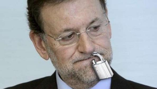Rajoy candado