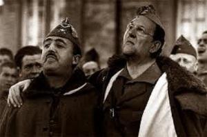 Franco my Rajoy, esos grandes nombres. Grbraltar, esa gran coartada.