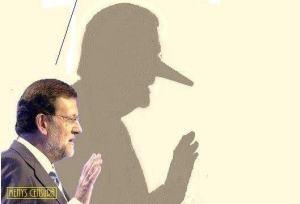 Rajoy, esa gran metira