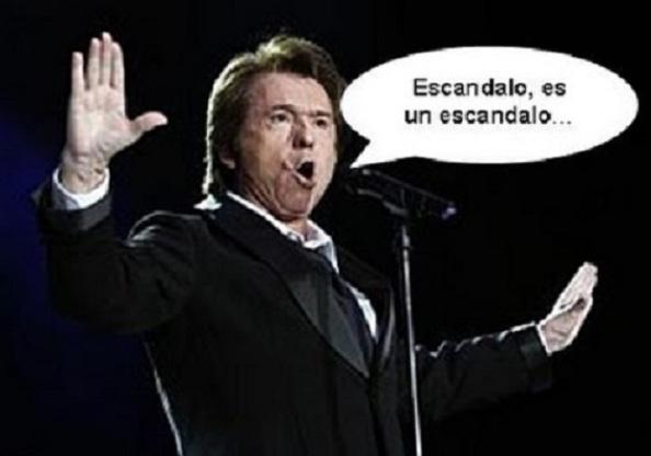 Tras la intervención de Rajoy, ¿le habrá comprado el PP  los derechos de autor con dinero negro a Raphael para su nuevo himno?: http://www.youtube.com/watch?v=EDNepPvmeN4