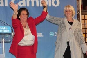 Teófila Martínez y Rita Barberá, cambio seguro.
