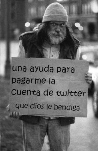 Pobres pidiendo mientras gastan millonadas en cuentas Twitter, según Teófila