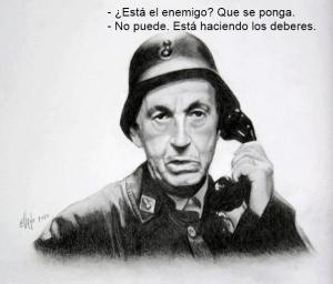 Miguel Gile, al que se le echa de menos para parodiar el culebrón Gibraltar que promueve Rajoy