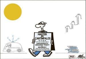 Instituto donde obtiene los títulos la señora Cospedal, según el doctor Fraguas
