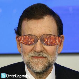 El Rajoy, el que dijo nunca vio ninguna irregularidad en el PP, centro de la trama corrupta-mafiosa.
