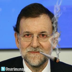Rajoy, fuma que fuma brotes verdes como cortina de humo para su recuperación