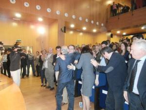 Martín Serón siempre se vería apoyado por la dirección del PP