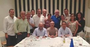 "La cena en el restaurant ""La Mafia"" celebrando su nombramiento"