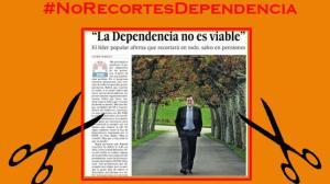Según Rajoy, ni la Dependencia ni el Estado del Bienestar son sostenibles. El sistema bancario, sí