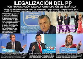 En cualquier país de la UE, la corrupción en el PP hubiera dado lugar a su ilegalización y detención de culpables y beneficiarios