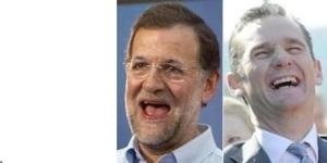 Rajoy y Urdangarín, riéndose de la ciudadanía?