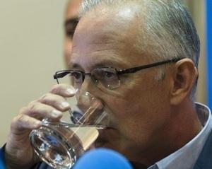 Martín Serón al fin realiza su mal trago  con la dimisión