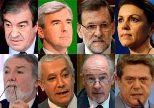 Algunos máximos dirigentes del PP, no todos, sobreseados por Bárcenas